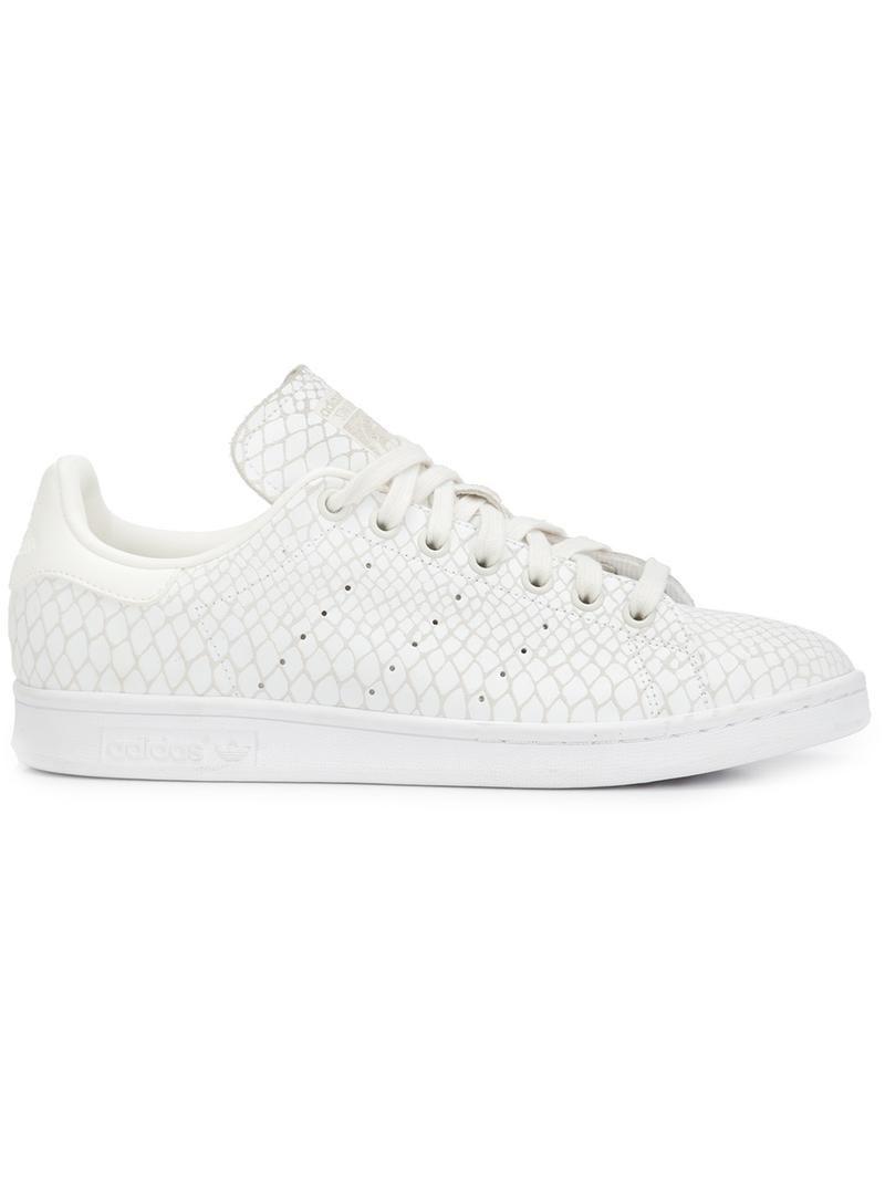 zapatillas blancas piel mujer adidas