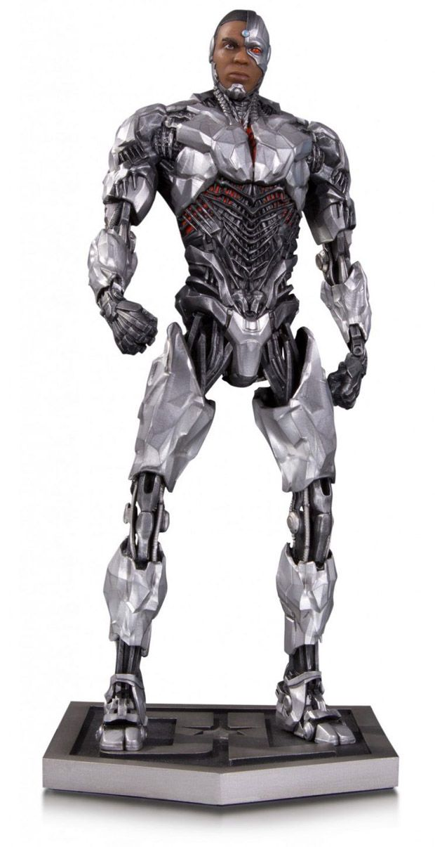 Justice League Movie Cyborg Statue Dc Comics Related