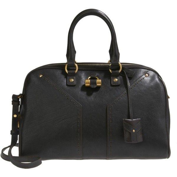 Saint Laurent Paris Black Muse Bowler Bag