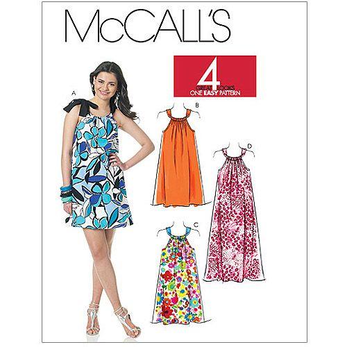 McCall's Pattern Misses' Dresses In 40 Lengths A40 40 40 40 40 40 Best Walmart Dress Patterns