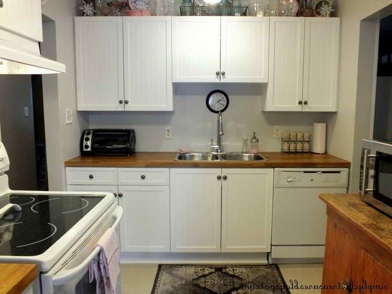 Melamine Kitchen Cabinets Makeover
