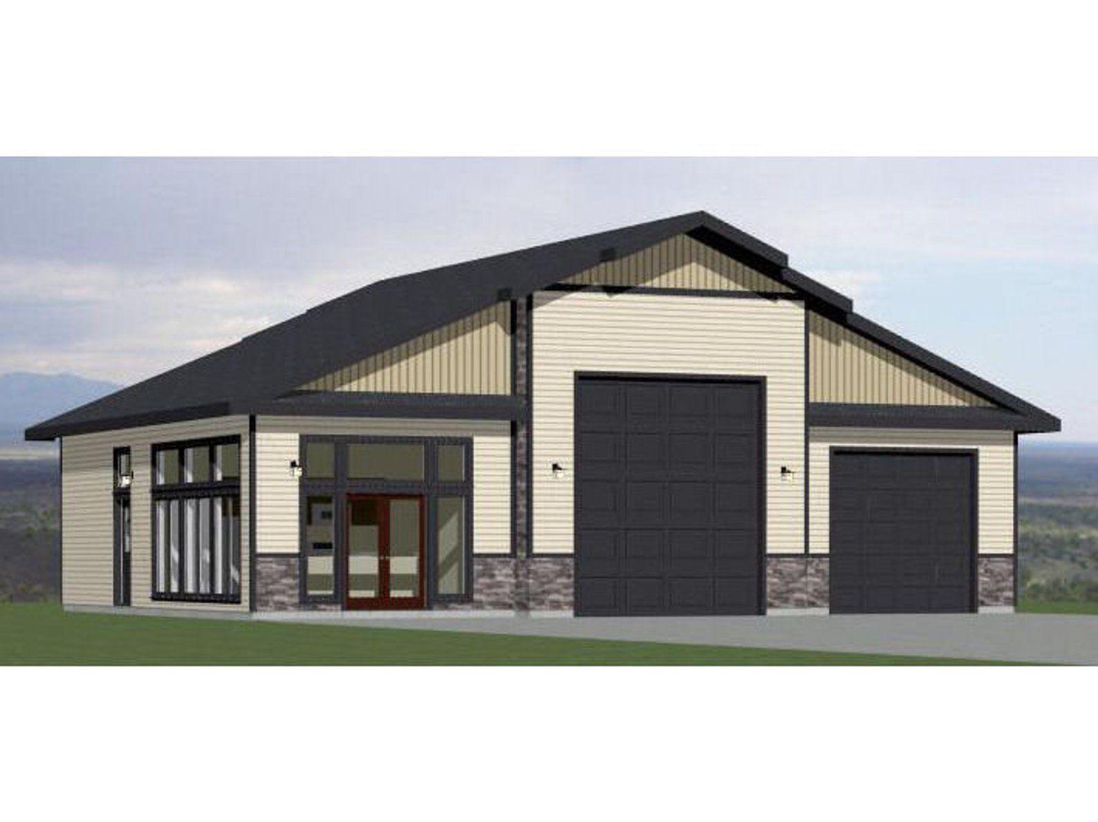 50x42 Garage 1 BR 1 BA PDF Floor Plan 1,973 sq ft