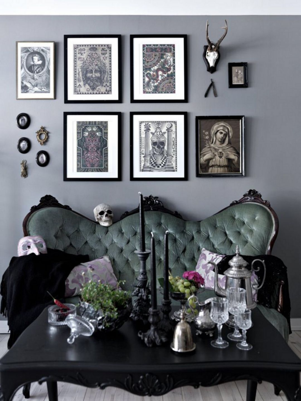 25 Incredible Gothic Living Room Design Decor Ideas For You Inspiration Gothic Home Decor Gothic Living Room Goth Living Room
