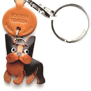 Boston Terrier Keychain, $13.50, now featured on Fab.