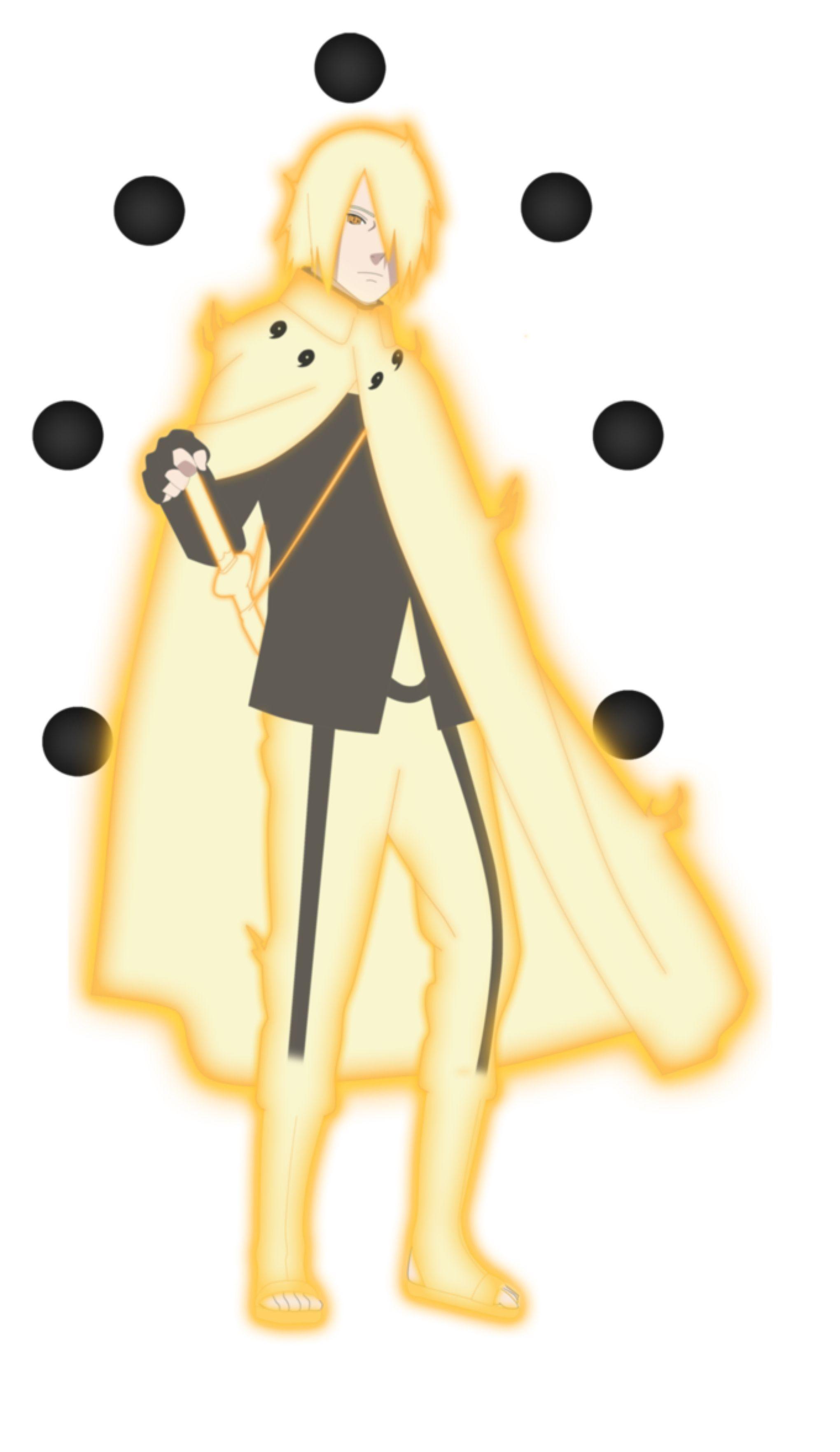 Sasuke Uchiha Six Paths Sage Mode By Everlastingdarkness5 On