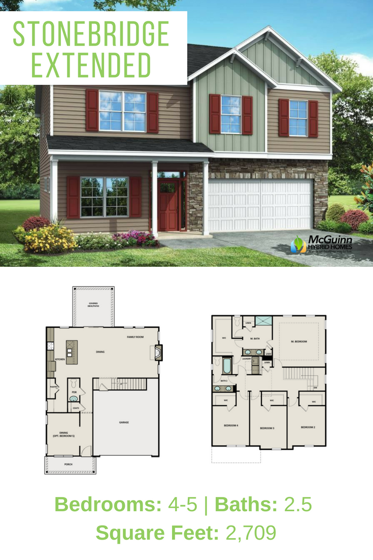 Looking For A Large Floor Plan Discover Our New 4 Or 5 Bedroom Floor Plan Available In Columbia South Carolina Thi Large Floor Plans House Plans Floor Plans