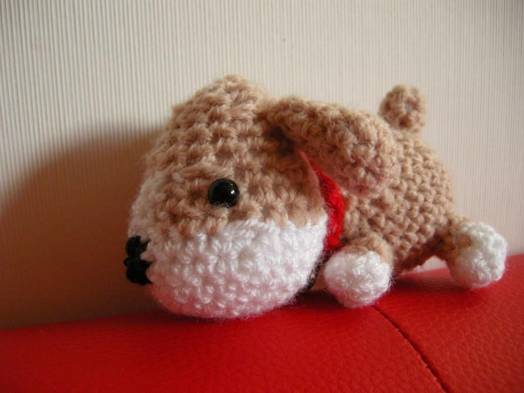 Free crochet pattern - Amigurumi Harvest Moon Puppy pattern by ...