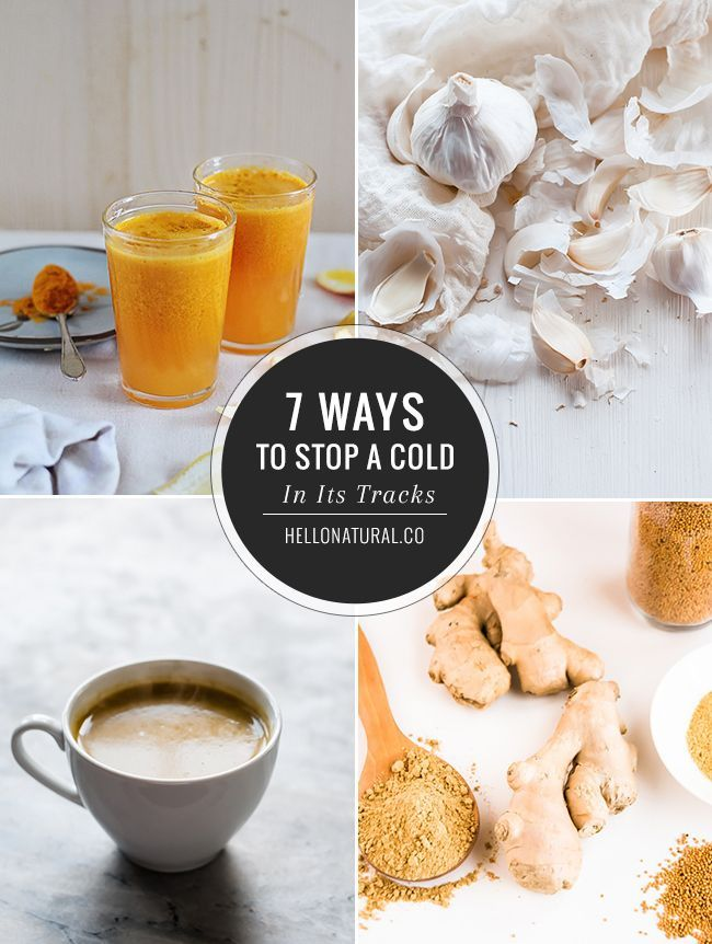 7 Natural Ways to Prevent a Cold