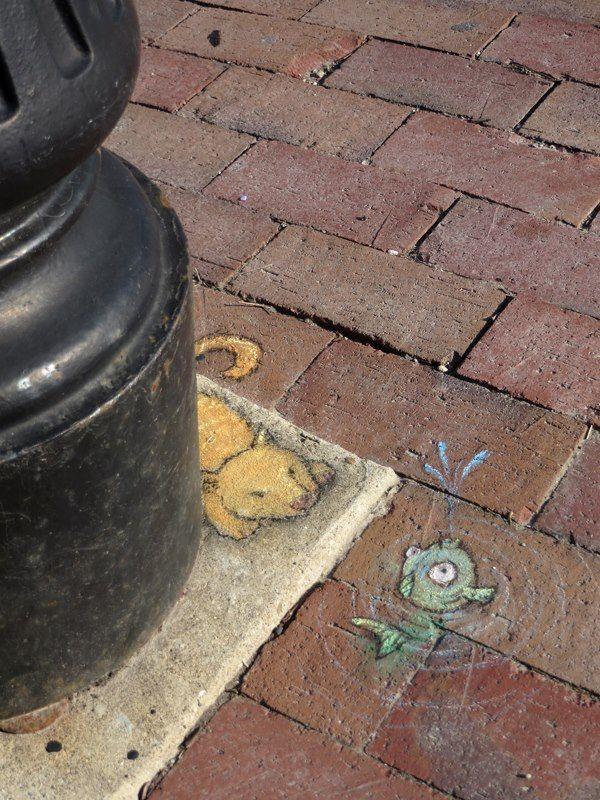David Zinn about an hour ago via Twitter Photoset: To the tadpoles, to make much of time http://t.co/CgSOkGSkck