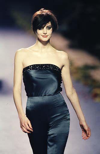 Honor Fraser in Chloe F/W 1998.