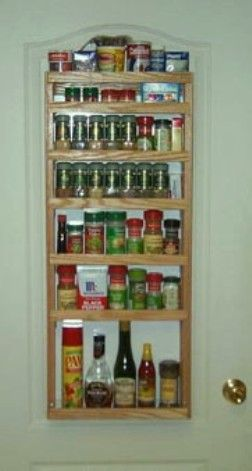 pantry door spice cabinet lips on front of shelf built up to rh pinterest at