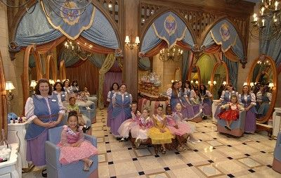 Disney Theme Park Double Princess Plus Disney Area And