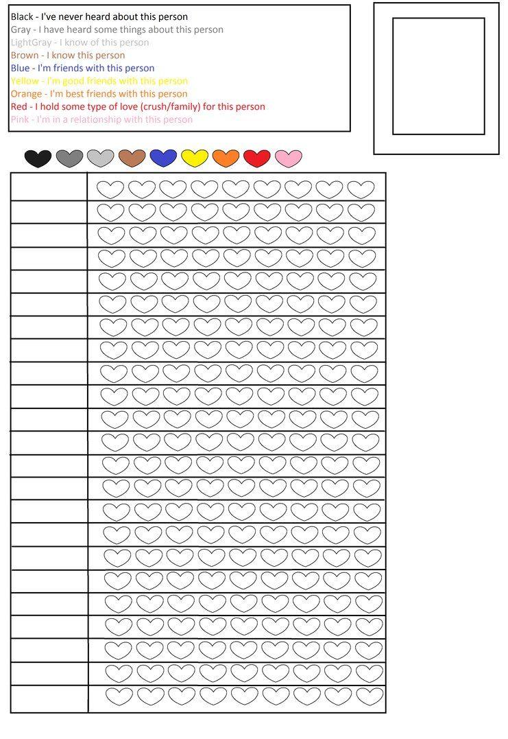 Populaire blank color chart faber castell - Sök på Google | empty color  SJ47