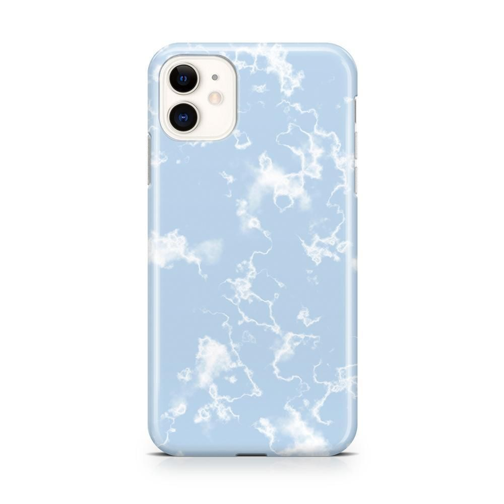 Light blue skies marble clouds case in 2020 blue phone