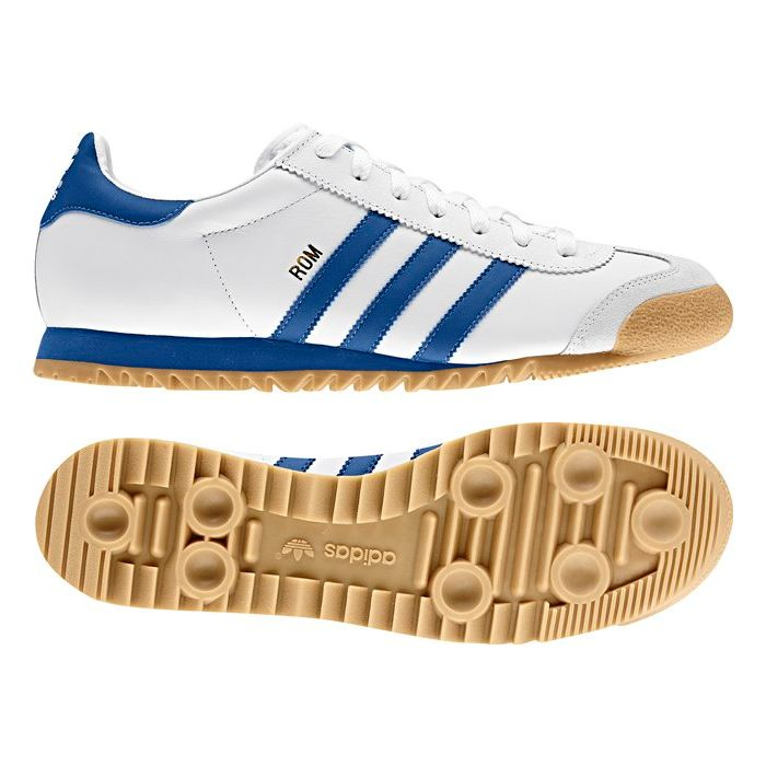 adidas ORIGINALS ROM SIZE 7 11 MENS TRAINERS SHOES RETRO LEATHER WHITE