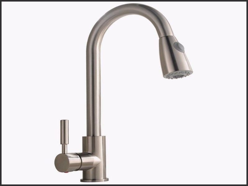 New Delta Valdosta Spotshield Stainless 1 Handle Pull Down Kitchen Faucet