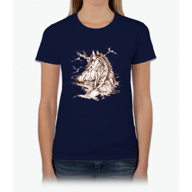 Unicorn Island Womens T-Shirt