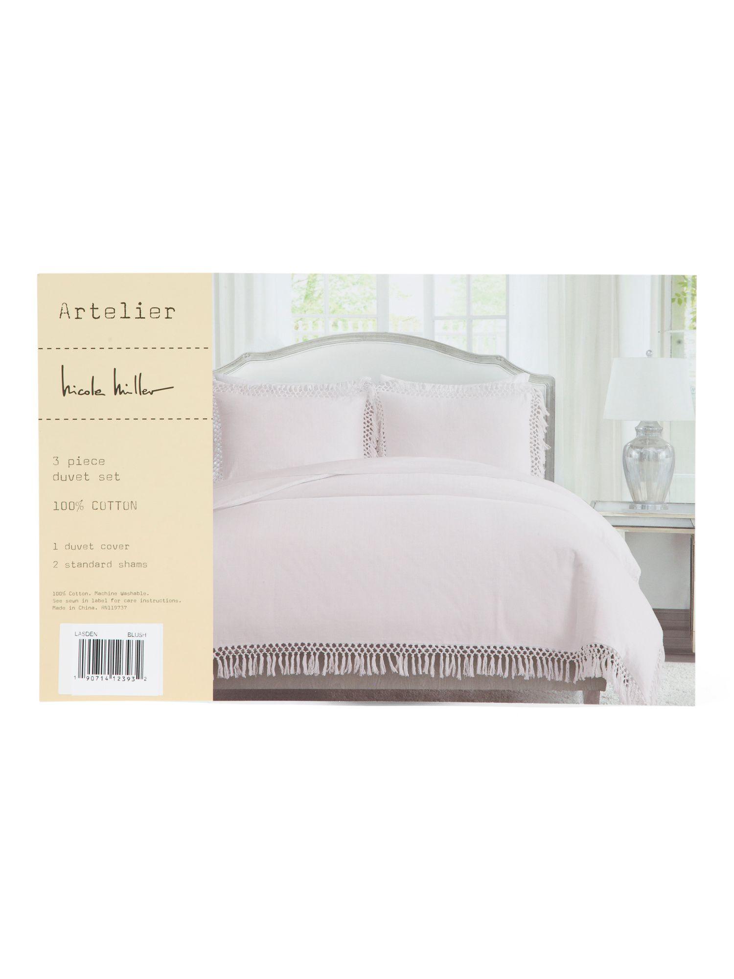 Nicole Miller Bedding Tj Maxx : nicole, miller, bedding, Lasden, Duvet, Bedroom, T.J.Maxx, Sets,