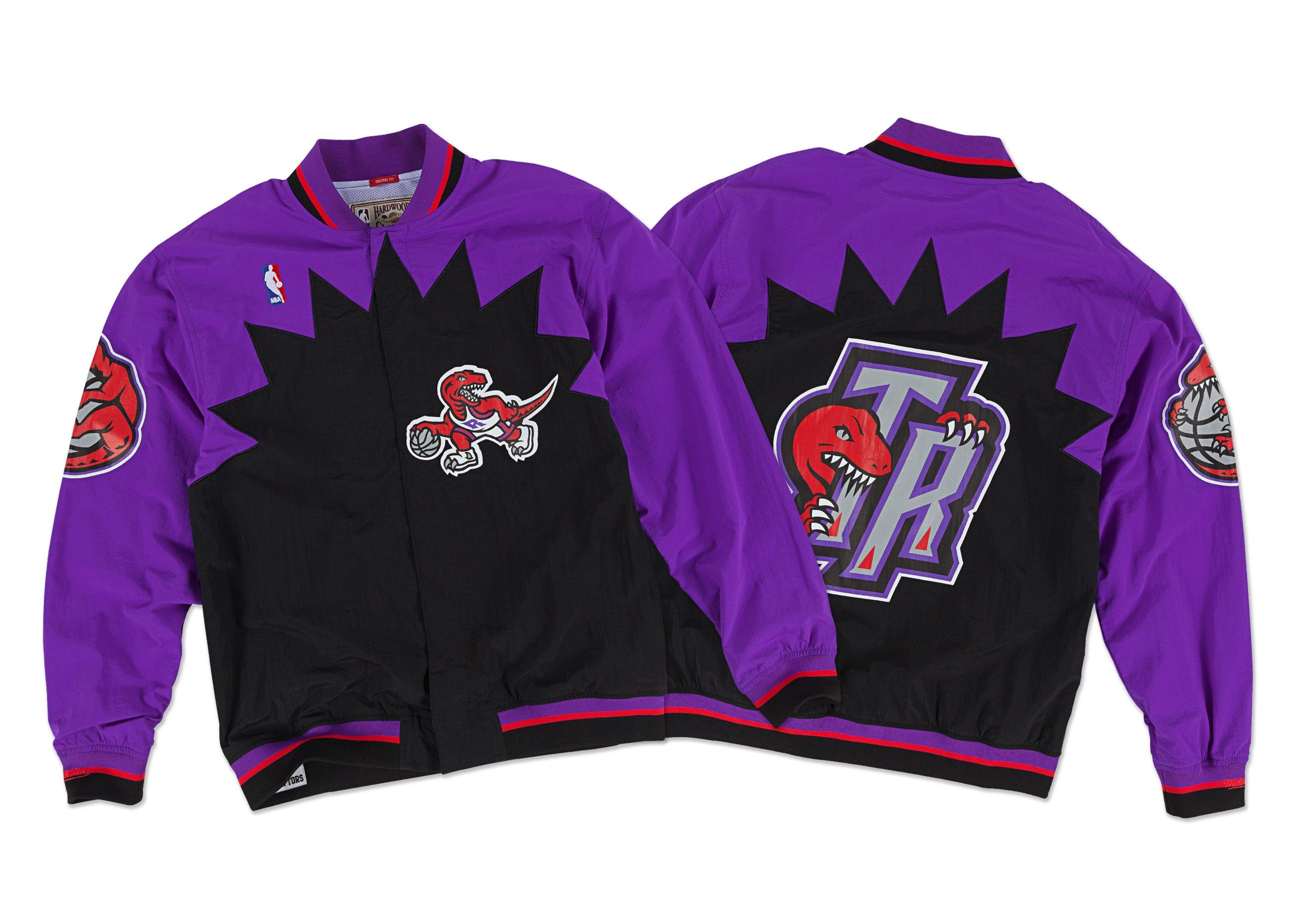f1dcba15c48 1995-96 Authentic Warm Up Jacket Toronto Raptors - Shop Mitchell   Ness NBA  Outerwear and Jackets