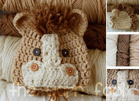 Newborn Infant Youth Sized Crochet Bear Hat By Theyarnfool On