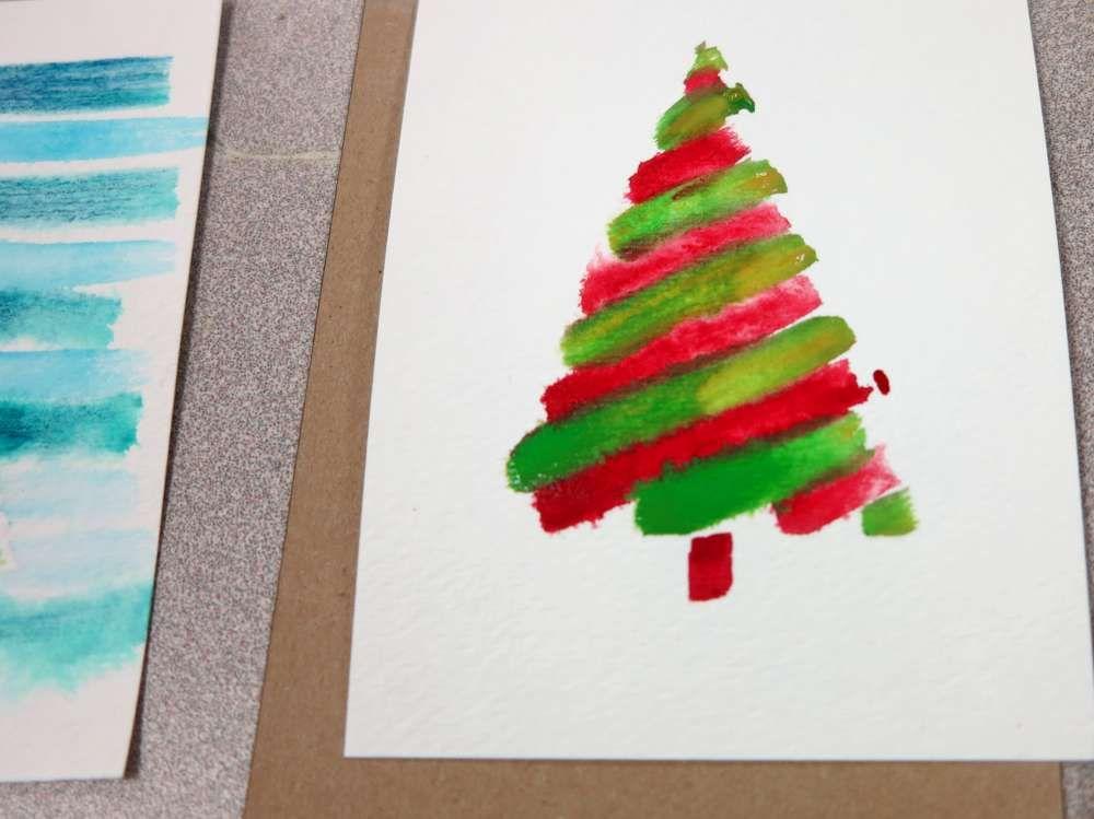 inventorArtist » Watercolor Christmas Cards   Watercolor ...