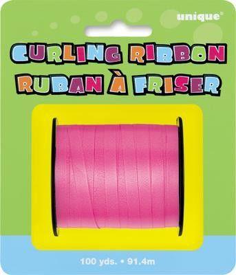 Curling Ribbon Hot Pink, 100yd