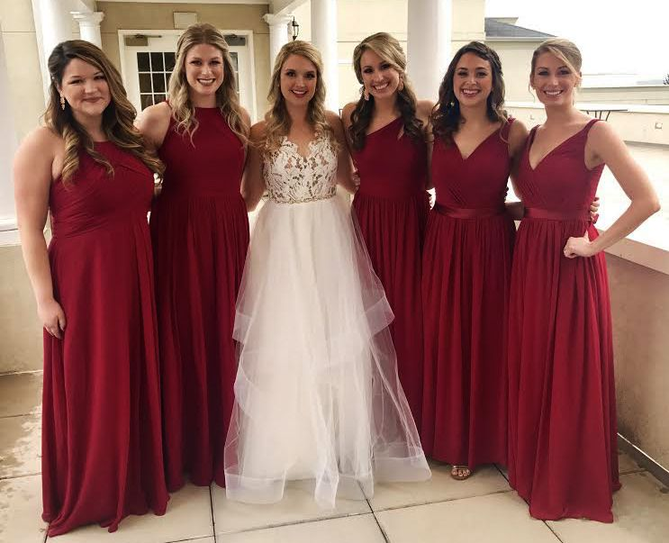 Using Azazie for Bridesmaid Dresses