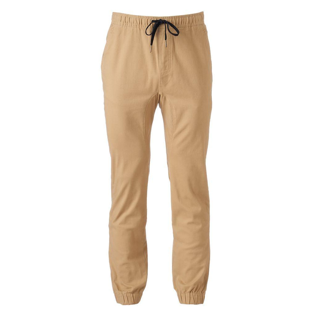 Men's Hollywood Jeans Ronan Twill Jogger Pants
