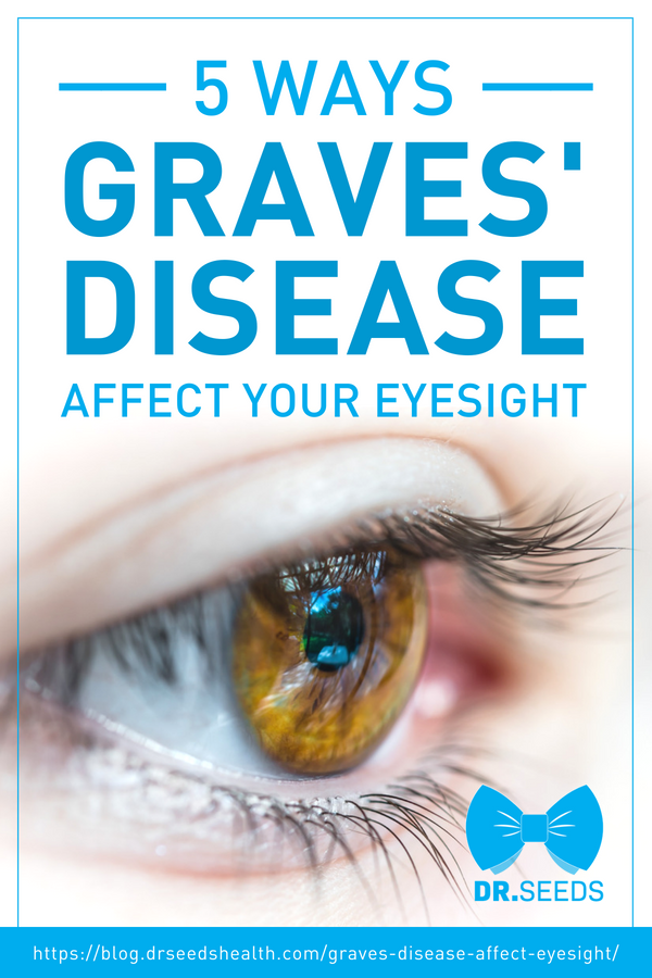 5 Ways Graves Disease Affect Your Eyesight Infographic Graves