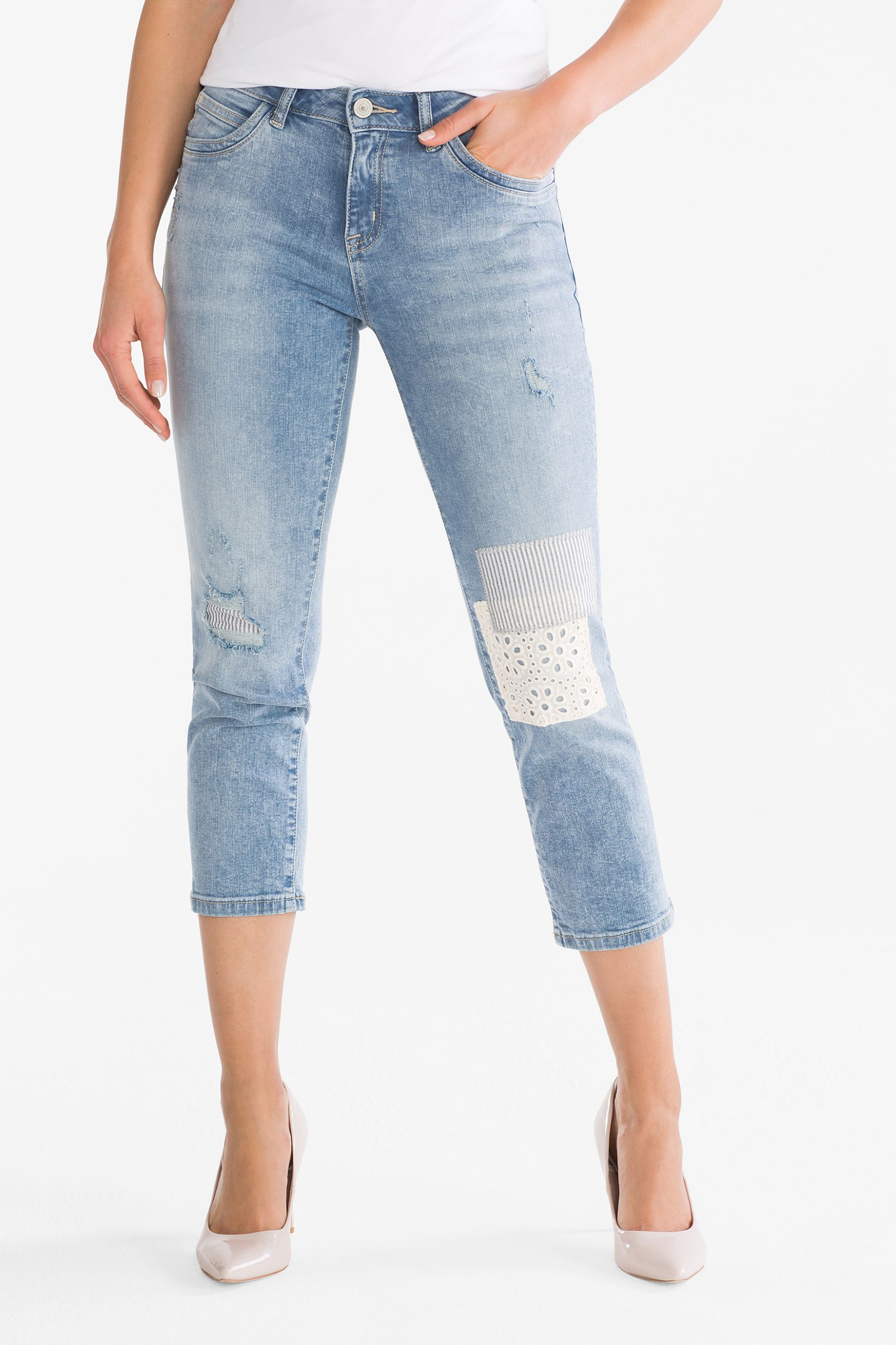 on sale 7ee14 b6b36 THE CROP JEANS - denim-light blue | Wishlist: clothes ...