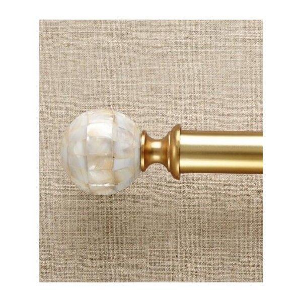 Lovely Prospect And Vine Sheffield Mother Of Pearl Ball Finial ($20) ❤ Liked On  Polyvore