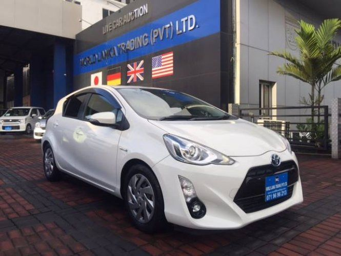 Car Toyota AQUA 2015 LED VERSION For Sale Sri lanka  TOYOTA