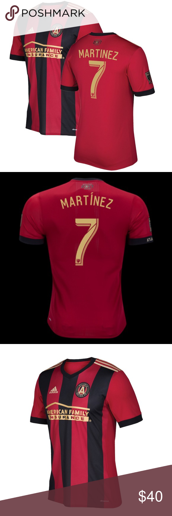 new arrival 8dde3 ff17d 18/19 Josef Martinez Atlanta United (Home) 2018/2019 Josef ...