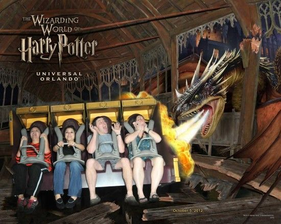 Souvenir Ride Photo From Harry Potter And The Forbidden Journey Universal Studios Florida Universal Orlando Universal Studios