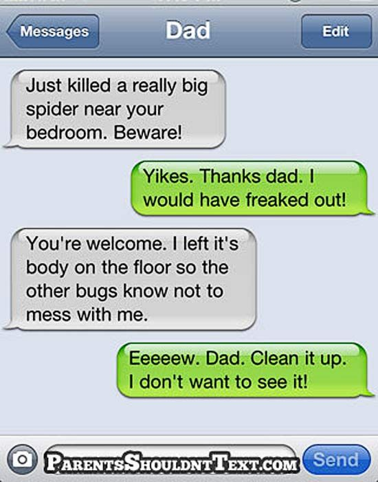 29 Funny Text Messages From Mom Dad Team Jimmy Joe Funny Texts Crush Funny Texts From Parents Funny Text Message Jokes