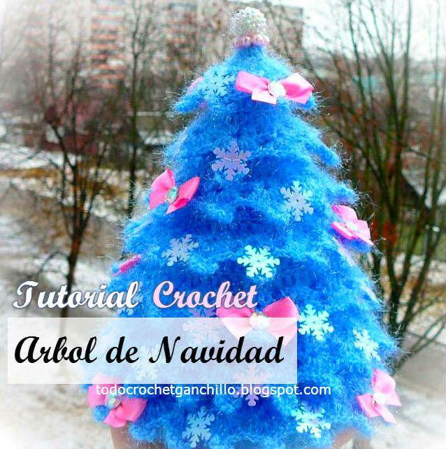 Cómo Hacer Un Árbol de Navidad Paso a Paso   Tutorial Crochet Todo - cosas de navidad