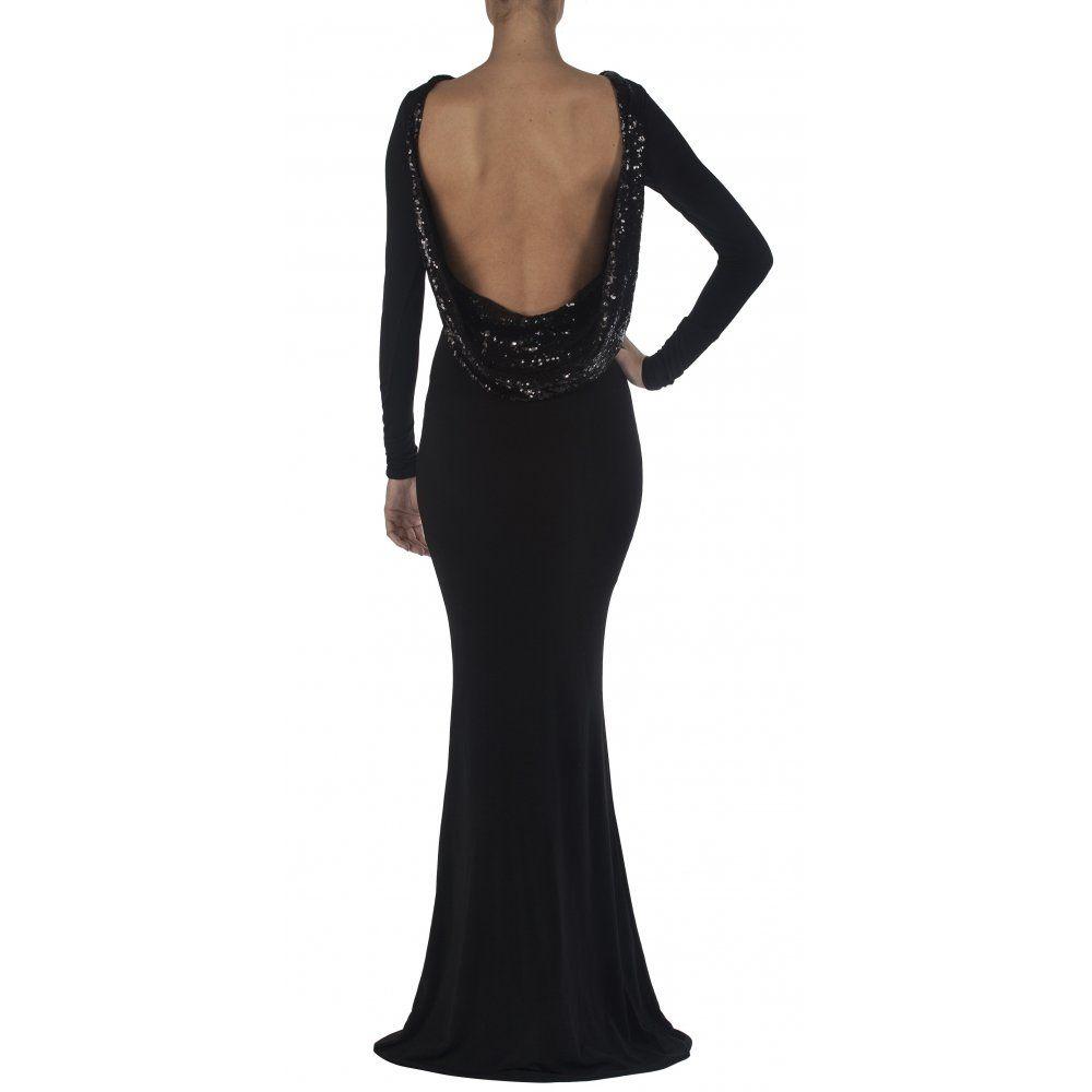 Sexy Black Dress - Maxi Dress - Cutout Dress - Backless Dress - $74.00