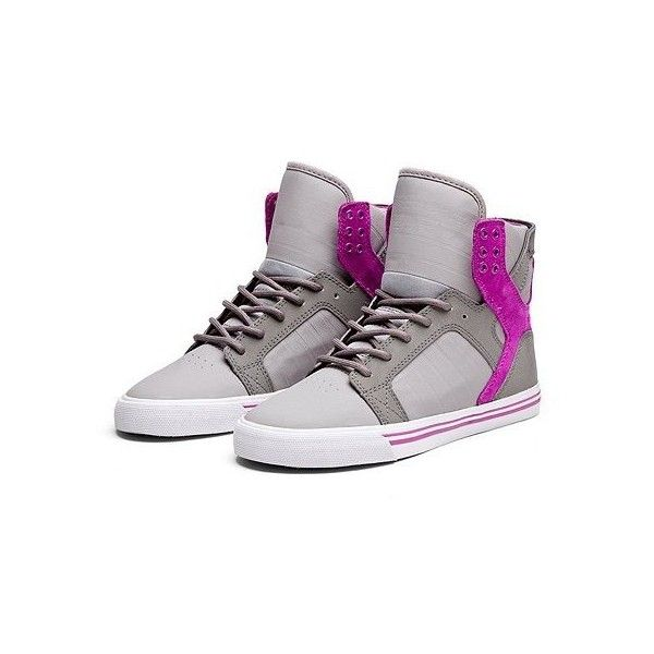 6fe53e744084 Supra Women s Skytop Sneakers ( 90) ❤ liked on Polyvore featuring shoes