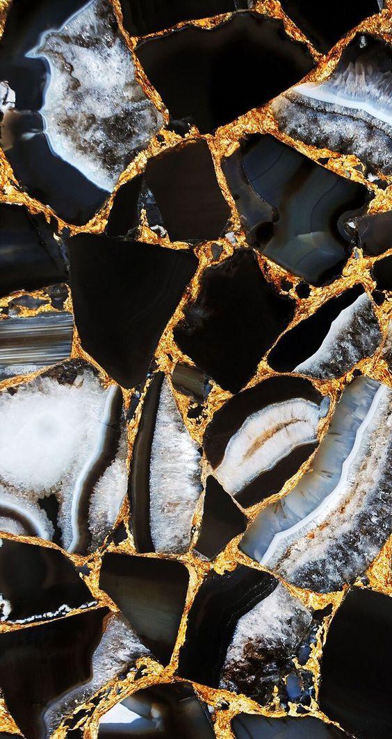 Décoration : Du marbre noir #fondecraniphonemarbre