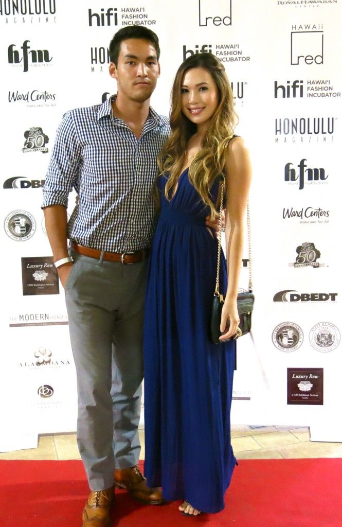 Hawaii Fashion Month Kickoff Party Red Carpet