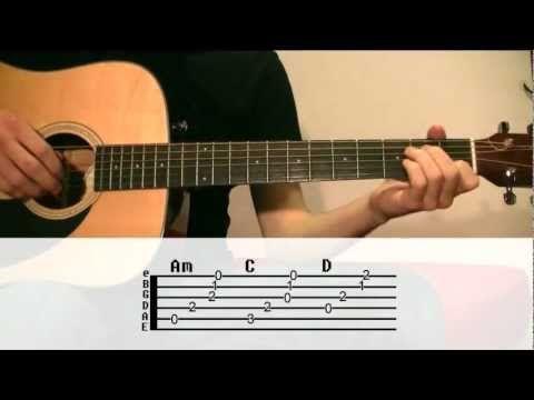 Johnny Cash - Hurt Guitar Lesson (Chords, Strumming Pattern ...