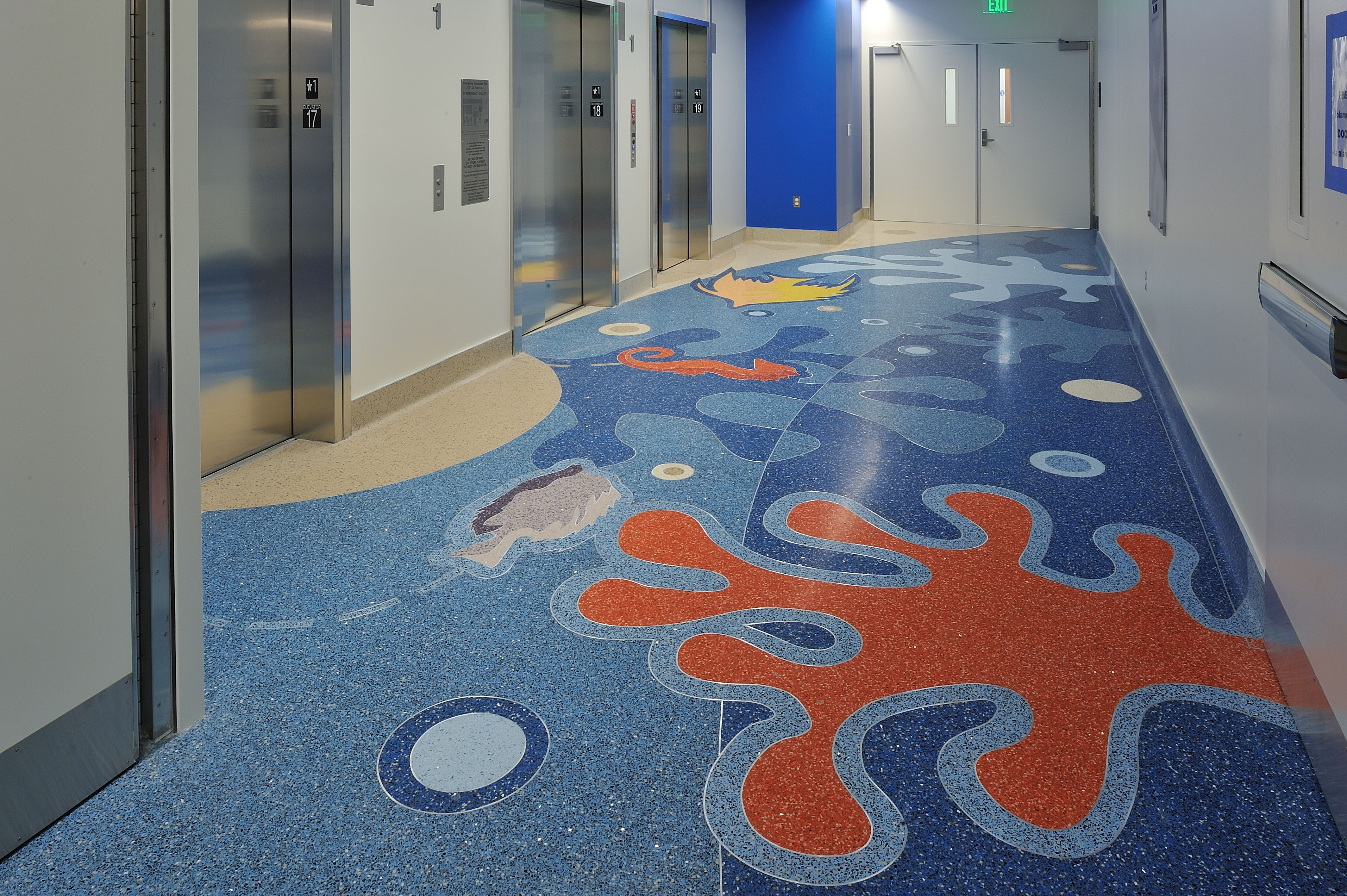 Children S Hospital Of Orange County Terrazzo Flooring