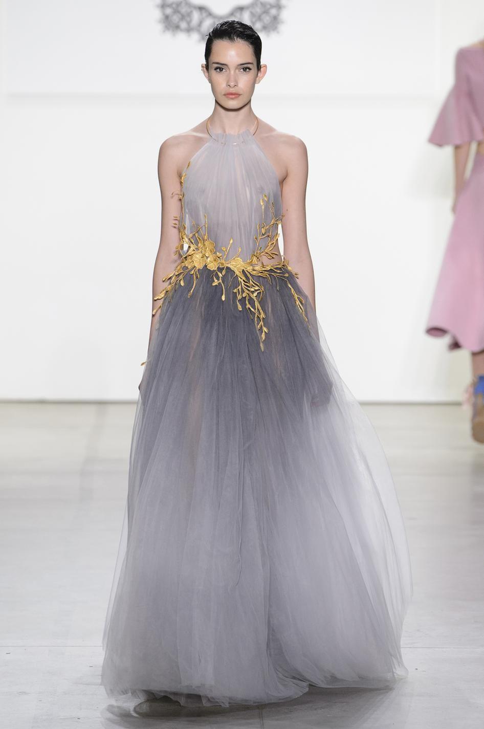 vente moins chère prix raisonnable nouvelle version Les plus belles robes du soir de la Fashion Week printemps ...