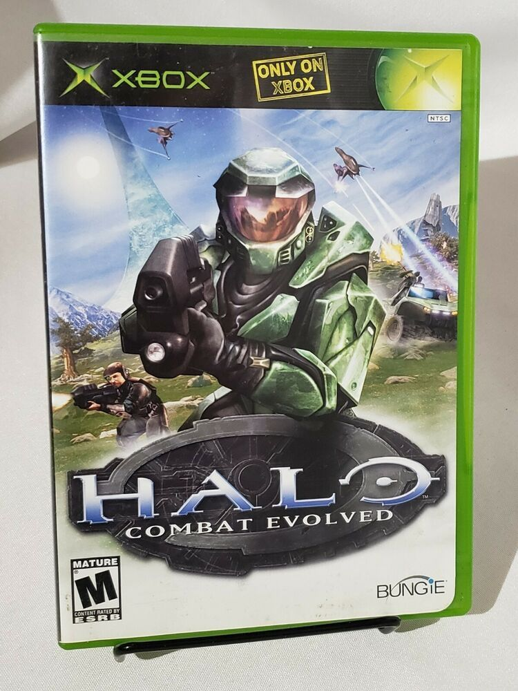 Halo Combat Evolved Replacement Case Only Original Xbox Combat