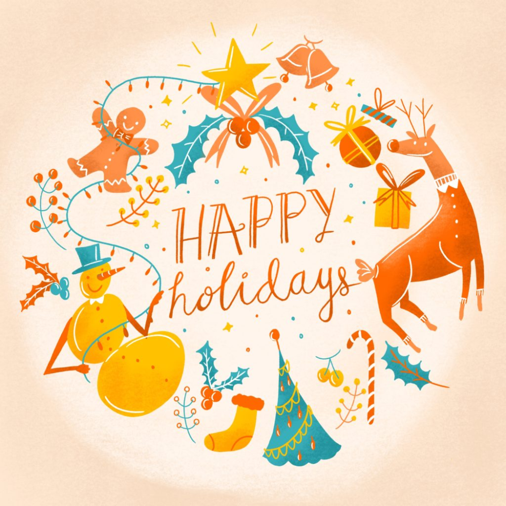 Happy Holidays Post For Instagram Fiverr Discover Happy Holidays Holiday Happy