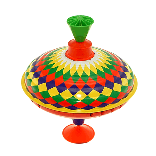 Spinning Top Small Harlequin By Bolz Kids Things Pinterest