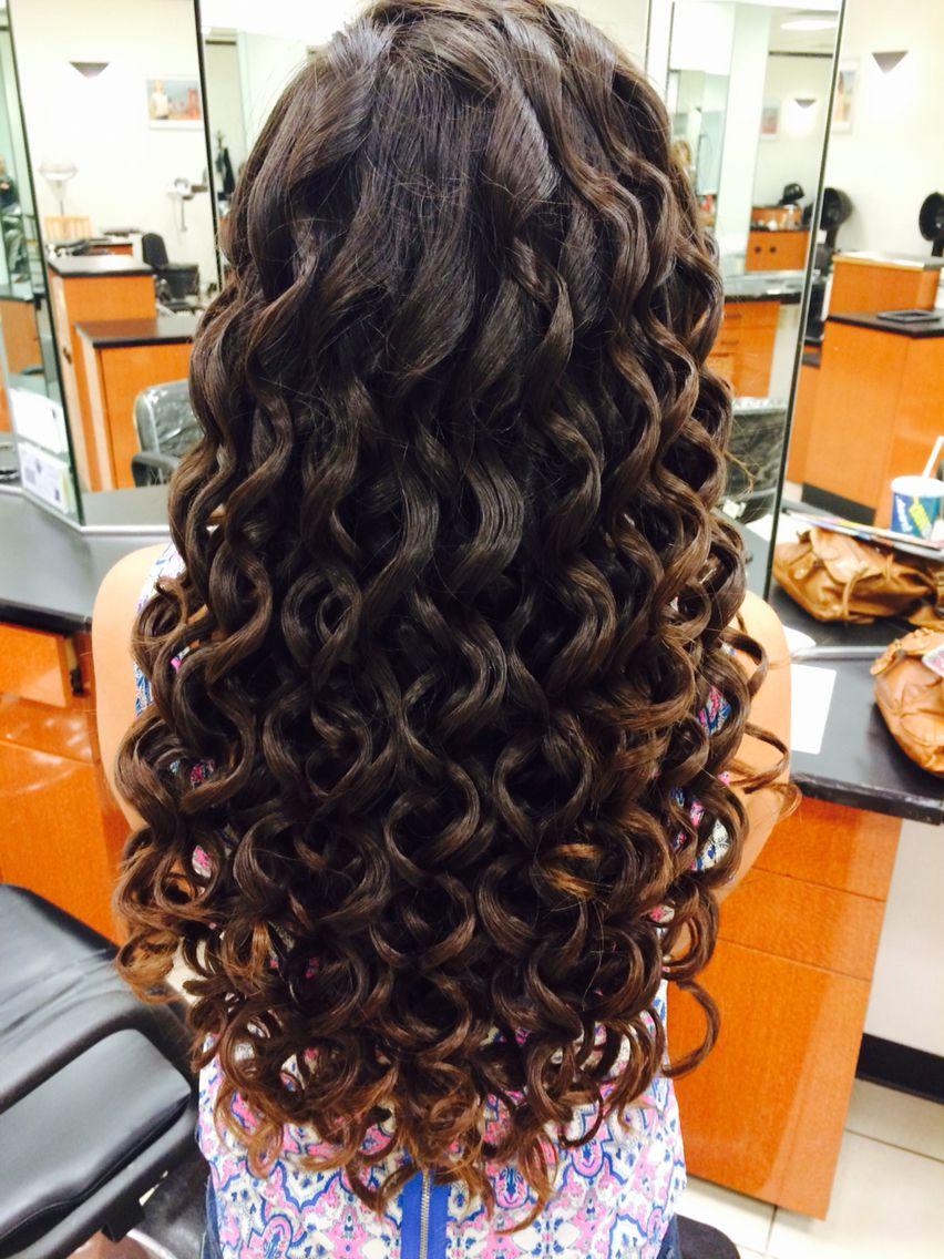 Basic Wand Curls