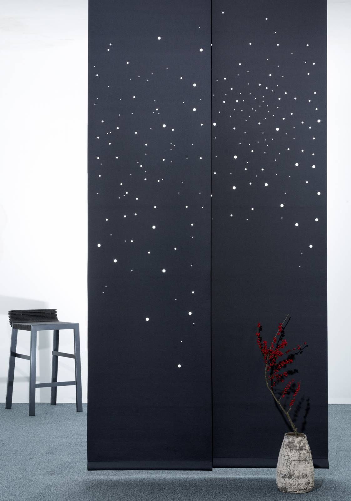 panneau japonais occultant voie lact e architecture pinte. Black Bedroom Furniture Sets. Home Design Ideas