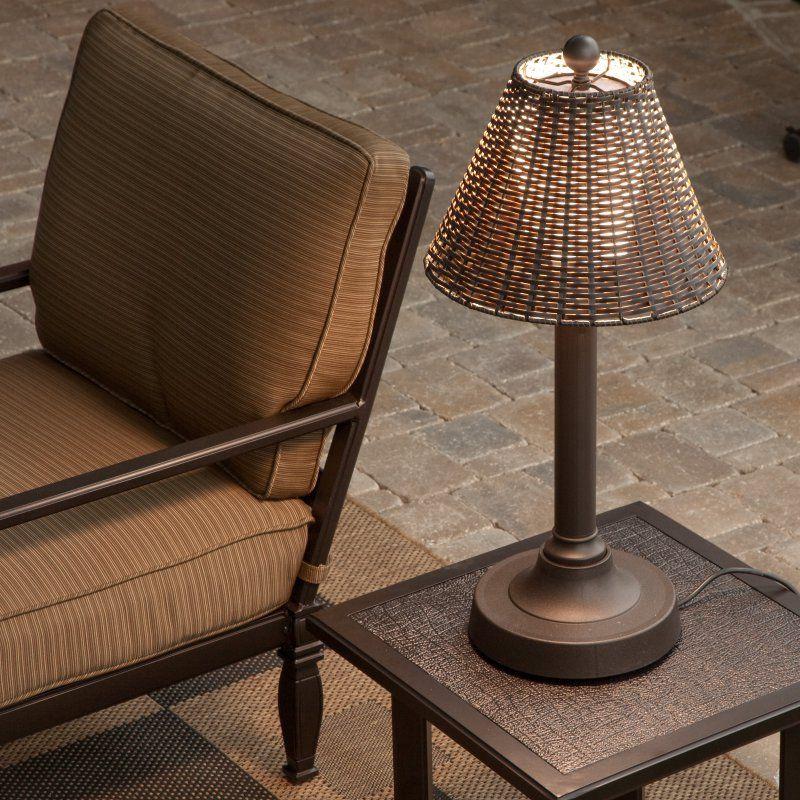 Tahti Outdoor Patio Table Lamp 17257
