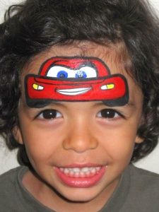 toothless+facepaint - Google Search